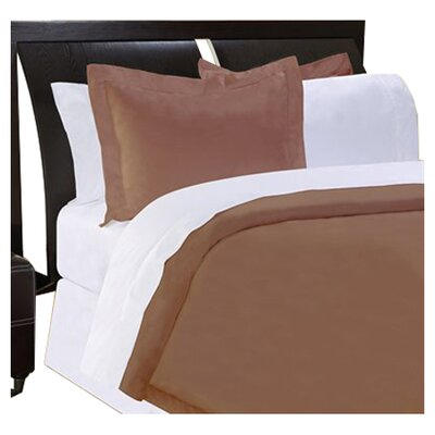 Shaeffer 3 Piece Reversible Duvet Cover Set Size: Queen, Color: Espresso
