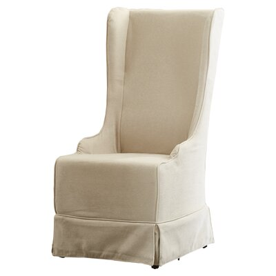 Hainsworth Slipcovered Arm Chair Upholstery: Beige
