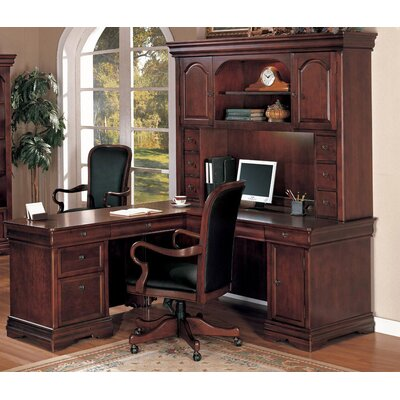 Knickerbocker L-Shape Executive Desk Orientation: Right