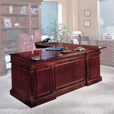 Flannagan L Shape Left Return Executive Desk Orientation Product Photo 2108