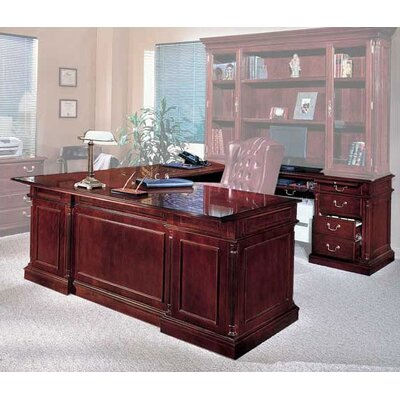 Left Return U Shape Executive Desk Orientation Product Photo