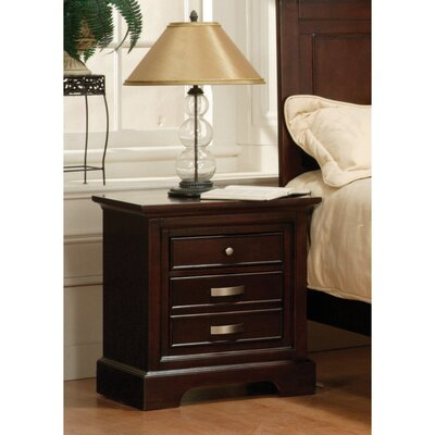 Troxell 2 Drawer Nightstand