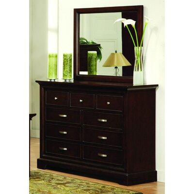Troxell Dresser and Mirror Set