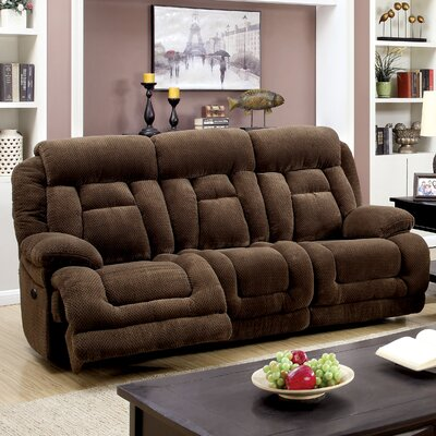 Lammers Reclining Sofa Type: Power