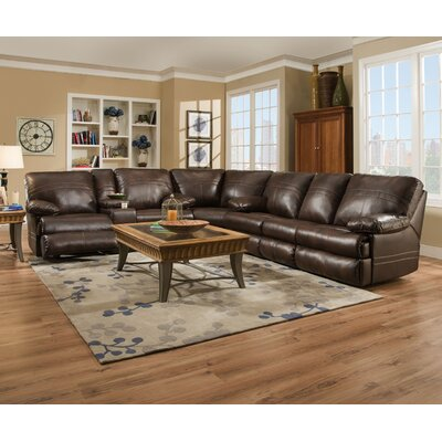 Simmons Upholstery Obryan Sleeper Sectional