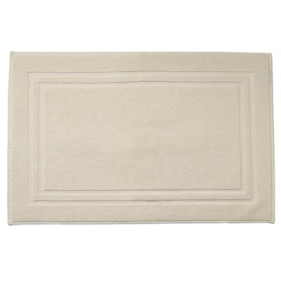 Houchins Solid Dobby Bath Mat Color: Mist (Ivory)