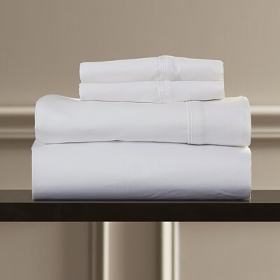 Superior 1200 Thread Count 100% Cotton Sheet Set Size: Queen, Color: White