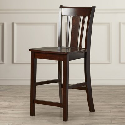 Draper 24 inch Bar Stool Finish: Rich Mocha