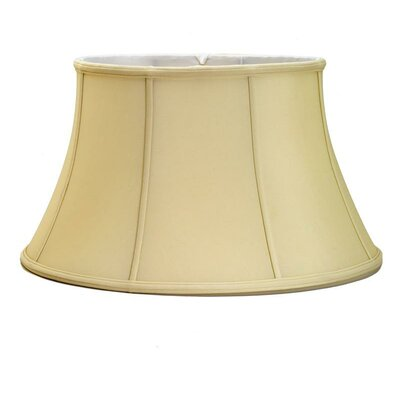 Soft 18 Silk Bell Lamp Shade Color: Egg