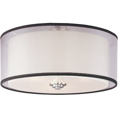 Houseknecht 3-Light Flush Mount