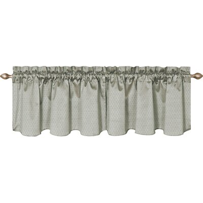 Valasquez 42 Blackout Window Curtain Valance Color: Gray