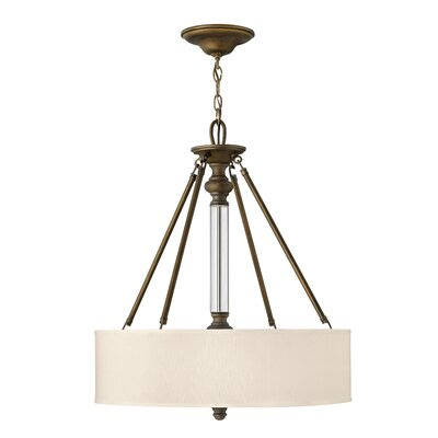 Middlebrooks 3-Light Drum Pendant Finish: English Bronze