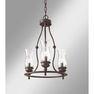 Shives 3-Light Candle-Style Chandelier