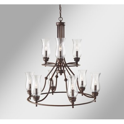 Shives 9-Light Candle-Style Chandelier