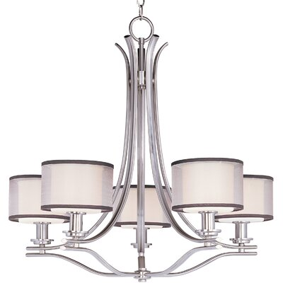 Houseknecht 5-Light Drum Chandelier