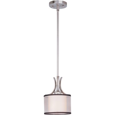 Houseknecht 1-Light Mini Drum Pendant