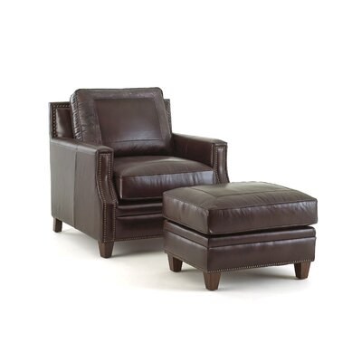 Gravely Arm Chair and Ottoman