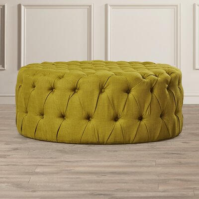 Belmont Cocktail Ottoman Upholstery: Sweet Pea Green