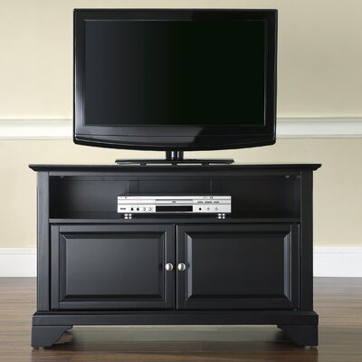 Abbate 42 TV Stand Color: Black