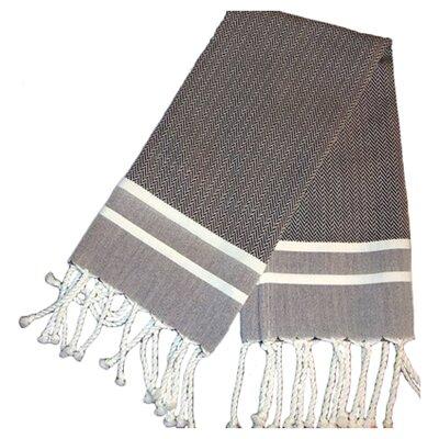 Sumner Stripe Hand Towel (Set of 2) Color: Black/White
