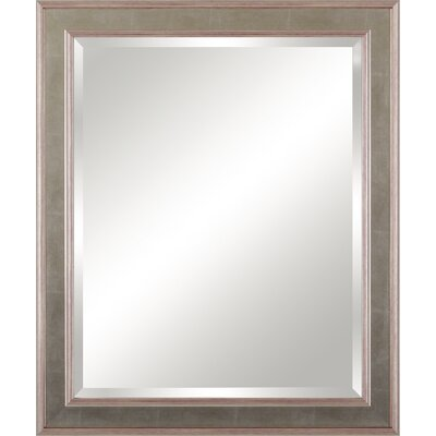 Framed Beveled Vanity Mirror
