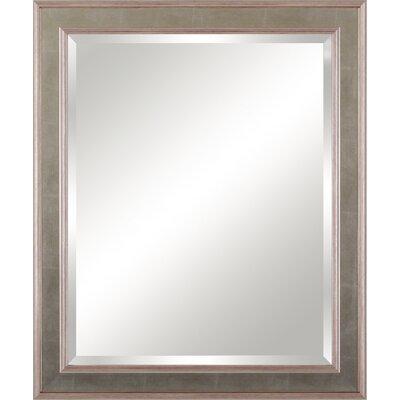 Framed Beveled Vanity Mirror
