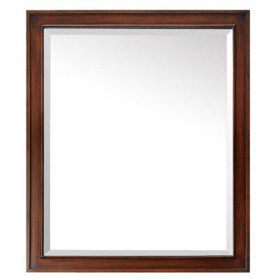"""Wall Mirror Size: 35"""" H x 30"""" W x 1.5"""" D DBHC6216 27711643"""