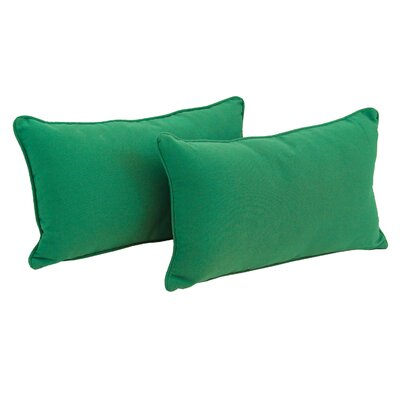 Paschall Lumbar Pillow Color: Emerald
