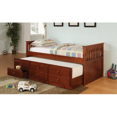 Kirschner Daybed with Trundle Finish: Cherry
