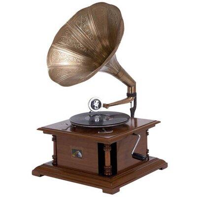 Antique Replica RCA Victor Phonograph Gramophone