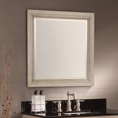 Cuffee Bathroom Mirror Finish: Antique White