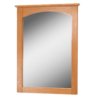 "Bathroom Mirror Size: 28"" H x 21"" W x 1.38"" D"