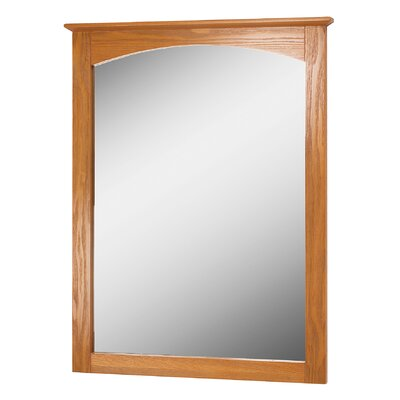 "Bathroom Mirror Size: 32"" H x 25"" W x 1.38"" D"