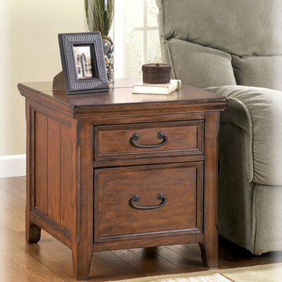 Mathis End Table With Storage