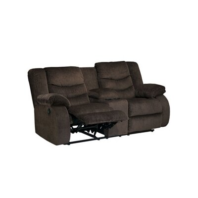 Blackledge Double Reclining Sofa Type: Manual, Upholstery: Brown