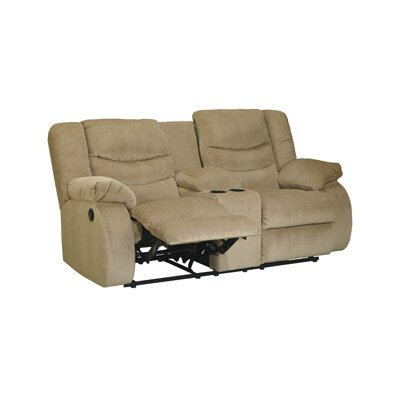 Blackledge Double Reclining Sofa Type: Manual, Upholstery: Beige