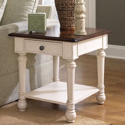 Demaree End Table With Storage