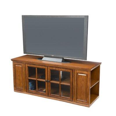 Crandall 62 TV Stand Color: Burnished Oak