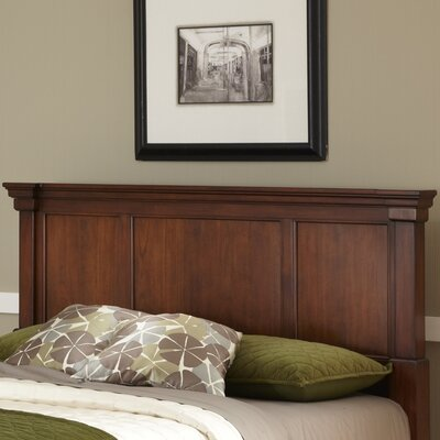 Cargile Panel Headboard Finish: Rustic Cherry, Size: King / California King