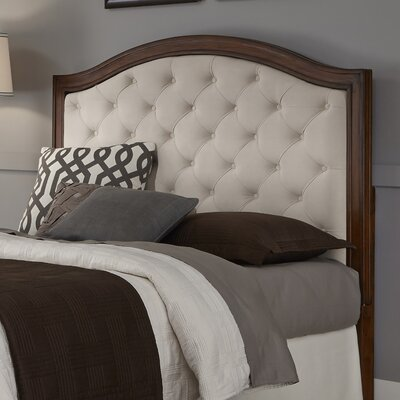 Myra Upholstered Panel Headboard Size: King / California King