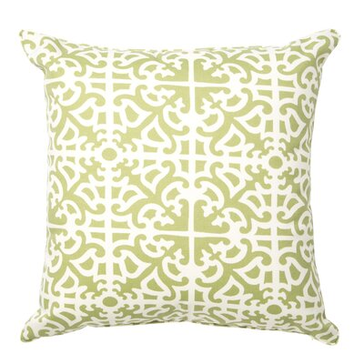 Herndon Indoor/Outdoor Throw Pillow Color: Green