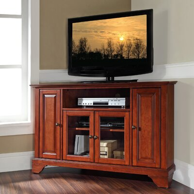 Mcvey 48 TV Stand Color: Classic Cherry