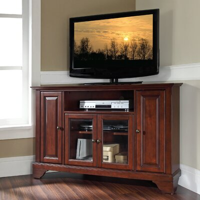 Mcvey TV Stand Finish: Vintage Mahogany