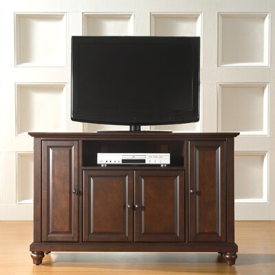 Riffe 48 TV Stand Color: Vintage Mahogany