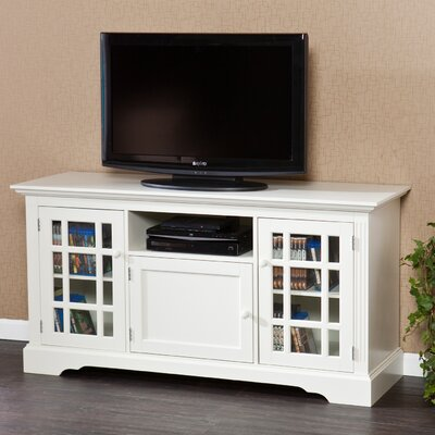 Deforge 55 TV Stand Color: Off-White