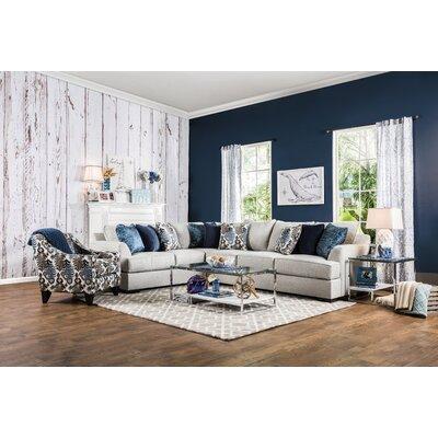 Fyffe Sectional Upholstery: Beige