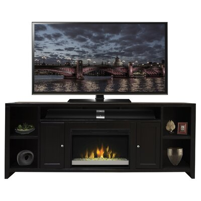 Garretson 84 TV Stand with Fireplace