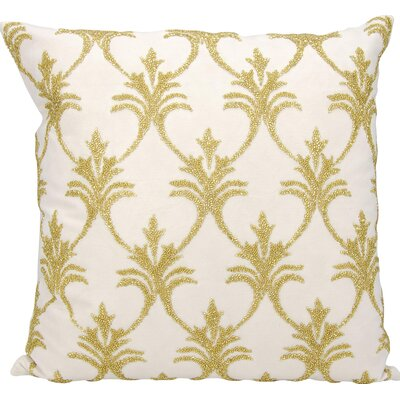 Hutcherson 100% Cotton Throw Pillow Color: Light Gold