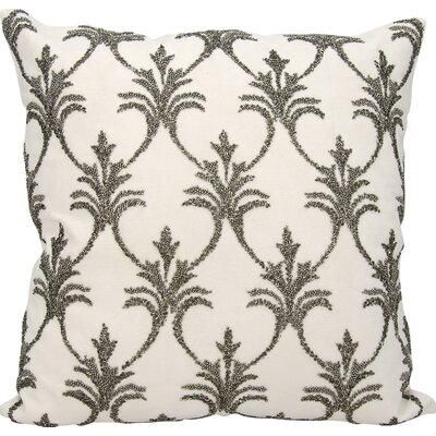 Hutcherson 100% Cotton Throw Pillow Color: Pewter