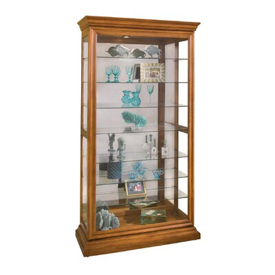Goldenberg Curio Cabinet Finish: Oak
